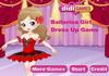 Game Ballerina girl dress up