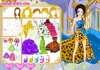Game Luxurious butterfly wedding dress