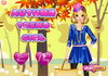 Game Autumn trend girl