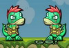 Game Double dino adventure