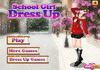 Game School girl dress up