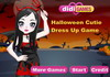 Game Halloween cutie dress up