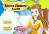 Game Spring flowers princess
