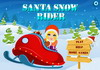 Game Santa snow rider