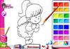 Game Kids coloring book