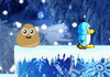 Game Pou ice adventure