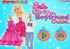 Game Barbie girly vs boyfriend outfit