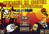 Game Heroes in super action adventure