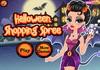 Game Halloween shopping spree
