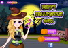 Game Happy Halloween girl