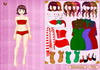 Game Colorful Christmas dress up 2