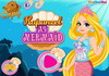 Game Rapunzel as mermaid