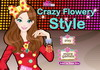Game Crazy flowery style