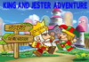 Game King and jester adventure