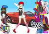 Game Youth power vehicle dressup