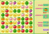 Game Fruits puzzle