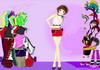 Game Bright fashion dressup