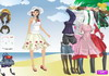 Game Beach angel dressup