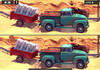 Game Offroad trucks differences