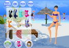 Game Beach fun dressup