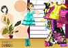 Game City girl fashion dressup