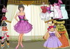 Game Classic style of princess dressup