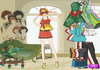 Game Joyful girl dressup