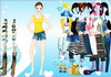 Game So active girl dressup