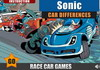 Game Sonic car differences