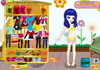 Game Happy painting dress up