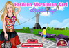 Game Fashion ukranian girl dress up